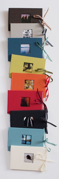 Noci Brag Book albums hold 24  4x6 photos. Quite possibly the world's nicest brag books.