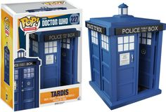 Doctor Who TARDIS Pop! Vinyl Figure - Funko - Doctor Who - Pop! Vinyl Figures - This Doctor Who TARDIS Pop! Vinyl Figure can travel through space and time. Well, not really… but it sure is cool! The Tardis, Doctor Who Tardis, Tenth Doctor, Pop Vinyl Figures, Funko Pop Figures, Lara Croft, Tv Doctors, Pop Toys, Pop Television
