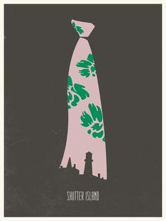 Minimalist Movie Poster: Shutter Island