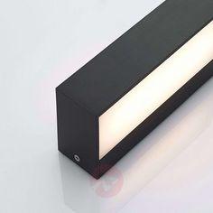Nienke LED outdoor wall light, IP65, 17 cm | Lights.ie