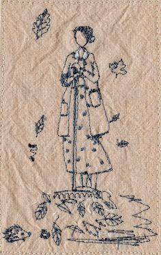 Resultado de imagem para michelle holmes embroidery