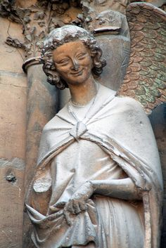 Smiling Angel - Notre Dame de Reims Cathedral.