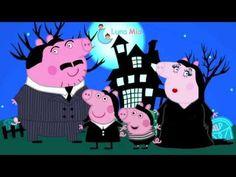 PEPPA PIG en DISFRACES DE LOS LOCOS ADDAMS