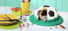Fußball-Torte, Rezept, Motivtorte, Fußball