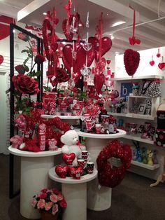 Valentine's Display from our Dallas Showroom @Dallas Market  Summer 2013! #burtonandburton #valentine