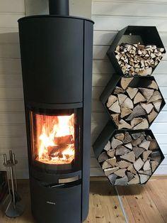 Kaminholzregal innen 3-teilig Größe XL für 30cm lange Holzscheite