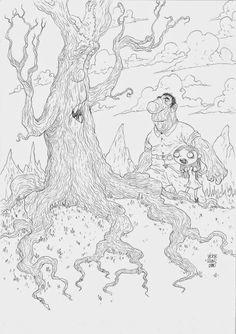 Víctor Rivas Ilustrations: Original: Familia árbol