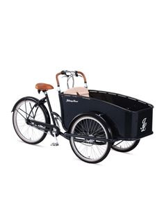 Dutch Delight Seven Speed Cargo Tricycle - Gilt Home - I want this for my bulldog