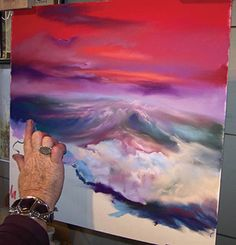 Online Pastel Demonstration: A Wave of Emotion | Artist's Network Pastels & other mediums board
