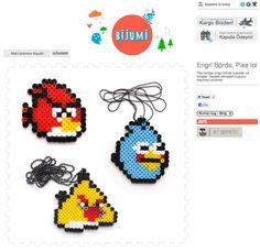 hama beads angry bird