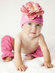 Baby Bubblegum Huggalugs Leg Ruffles for Baby Girl