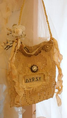 Gypsy purse for a cell phone or gift