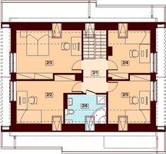 Projekt domu Marsala 128,48 m² - koszt budowy - EXTRADOM Marsala, Floor Plans, Projects, Houses, Log Projects, Blue Prints, Marsala Wine, Floor Plan Drawing, House Floor Plans