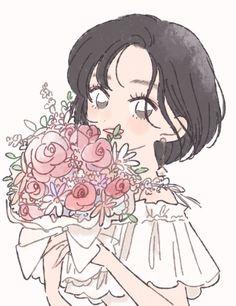 Art And Illustration, Character Illustration, Cartoon Kunst, Cartoon Art, Kawaii Anime Girl, Anime Art Girl, Aesthetic Art, Aesthetic Anime, Cute Art Styles