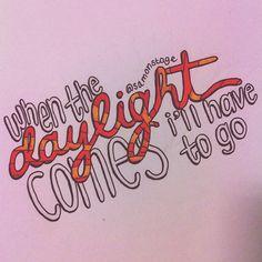 I love this! Really cool lyric art! =)