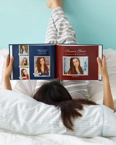 Give your graduate something special to look back on their school years with a personalized photo book. From Shutterfly High School Graduation, Graduate School, Graduation Gifts, Graduation 2016, Graduation Ideas, For Elise, Graduation Celebration, Memory Books, Grad Parties