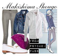 """""""[Psycho-Pass] Makishimi Shougo - Episode 7"""" by animangacouture ❤ liked on Polyvore"""