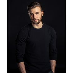 chris evans ❤ liked on Polyvore featuring chris evans