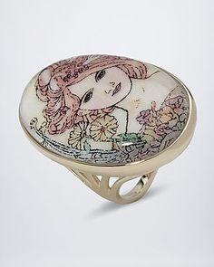 Sogni d'oro Classic Gemälde-Ring #sognidoro #sogni #doro #schmuck #edelstein #ring