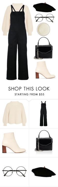 """""""Coco"""" by mariposa-fashion-21 ❤ liked on Polyvore featuring Apiece Apart, Chloé, Deux Lux, James Read, overalls, coco and coconut"""