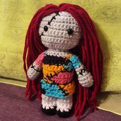 "24 Likes, 1 Comments - @melindamartinez1808 on Instagram: ""Sally from Nightmare Before Christmas #crochet #crocheting #create #craft #handmade #yarn…"""