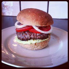 Lykkes Lækkerier:  Guacamole burger
