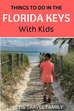 Planning a family vacation to the Florida Keys can be exciting! Check out our ultimate list of 27 of the best things to do in the Florida Keys with kids! Check the Florida Key off of your bucket list! Visit Florida, Florida Vacation, Florida Travel, Travel Usa, The Florida Keys, James D'arcy, Travel With Kids, Family Travel, Stuff To Do