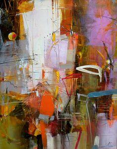 Abstract art by Lyubomir Kolarov.
