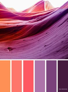 Orange and purple color schemeorange peach and purple color scheme color scheme color palette - Looking for color inspiration? At fab mood you will find of beautiful color palette color palette inspired by naturelandscape food season Scheme Color, Purple Color Schemes, Color Schemes Colour Palettes, Orange Color Palettes, Colour Pallette, Color Palate, Bedroom Color Schemes, Color Combos, Orange Palette
