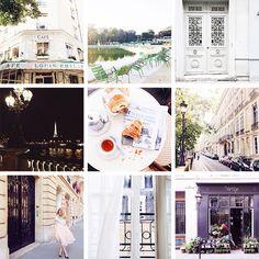 my favorite instagram accounts / paris in four months
