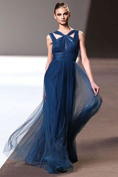 dark blue wedding dresses