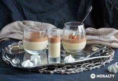 Kávémousse csokoládéval és sós karamellel