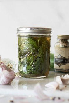 Pickled Stinging Nettles!