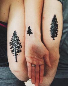 Family tattoo: 30 tatouages pour célébrer ses racines © Pinterest Brit Morin
