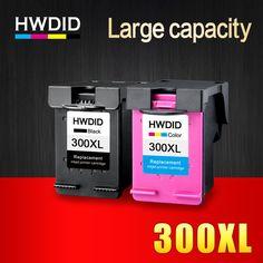 2 Pcs Cartouche D encre pour HP 300 300XL Noir Tricolore pour HP Deskjet  D1660 9a5cadfcd3f1