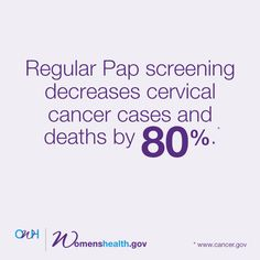 How often you need a Pap test depends on your age and health history. Find out what regular means for you.