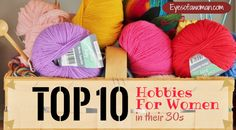 Check out our best picks of hobbies for women in their 30s to help you brainstorm much more fun hobbies in your spare time.