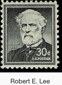 *ROBERT E. LEE ~ 30 cent United States Postal Stamp