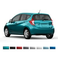Nissan Versa Note 2014 Hatchback, Metallic Peacock. I own this baby now! :)