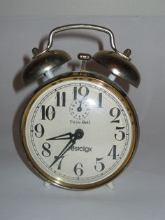 Westclox Wind Up Alarm Clock FOR SALE $10