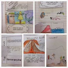 Interactive Science Journals {Earth Science Examples}