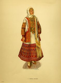 Greek Traditional Dress, Traditional Fashion, Traditional Outfits, Costumes Around The World, Folk Costume, Folklore, Athens, Greece, Cartoon