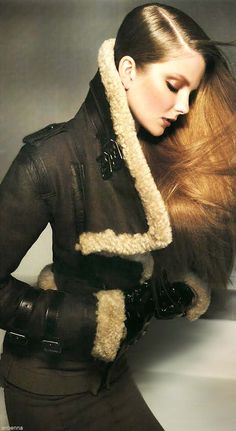 I know this is a woman's coat but is it ever a sexy woman's coat! Burberry Prorsum