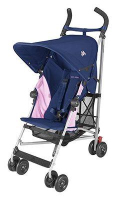 Amazon.com : Maclaren Globetrotter Stroller, Scarlet/Char : Umbrella Strollers : Baby