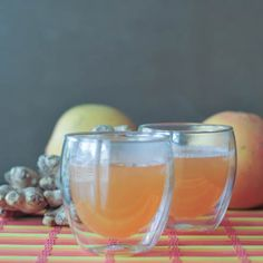 With their citrus and ginger content, can we pretend that these Grapefruit-Ginger Vodka Toddies are practically cold-busting health elixirs?
