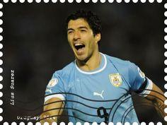 StampedeBeta-Stamp Design Contests - Stamp Profile - Luis Suarez - Uruguay