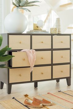 This is a super easy DIY Ikea hack for making any Ikea drawers, doors, or chests into rattan drawers… #sugarandcloth #diykieadrawers #ikeahack #diydrawers #rattan #drawers #homedecor #canedecor Diy Interior, Luxury Homes Interior, Interior Design, Ikea Malm Drawers, Diy Drawers, Easy Home Decor, Home Decor Kitchen, Wallpaper Drawers, Ikea Tv Unit