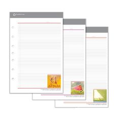 Fun spring notepads for the office.
