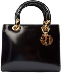 Christian Dior Lady leather handbag Dior Handbags b891d75cb70ff