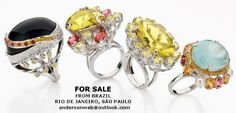 JEWERLS FOR SALE: From Brazil - ( direct with jewerl designer ) - Rio de Janeiro and São Paulo - Email: andersonweb@outlook.com